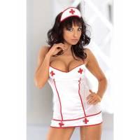 Костюм медсестры белый-M