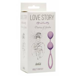 Вагинальные шарики Love Story Diaries of a Geisha Violet Fantasy