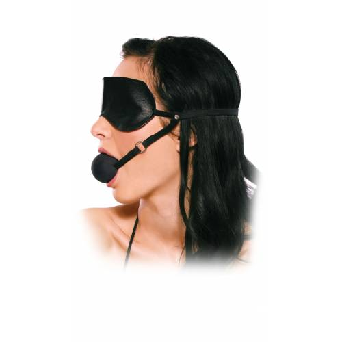 Кляп   BLINDFOLD BALL GAG
