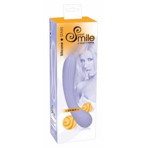 Фаллоимитатор двусторонний Smile В сиреневый