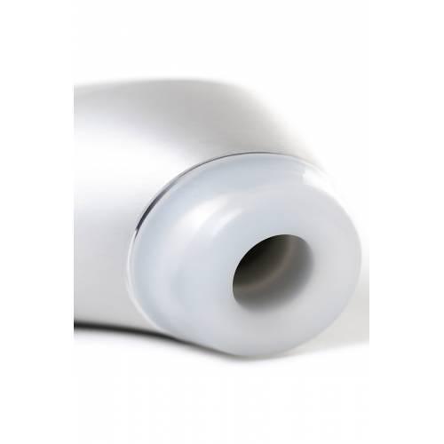 Вакуум-волновой бесконтактный стимулятор клитора Satisfyer Luxury High Fashion, алюминий+силикон, серебристый, 17.2 см