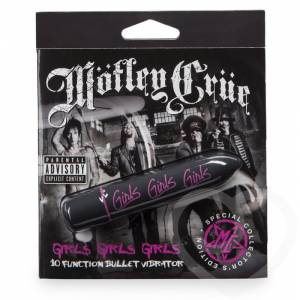 Вибропуля Motley Crue Girls 10 функций