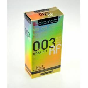 Презервативы OKAMOTO Real Fit №10 супер-тонкие, без накопителя