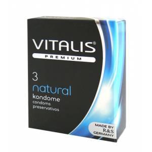 Презервативы классические VITALIS №3 Natural