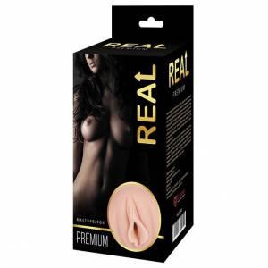 Реалистичный односторонний мастурбатор Real Women Dual Layer с двойной структурой
