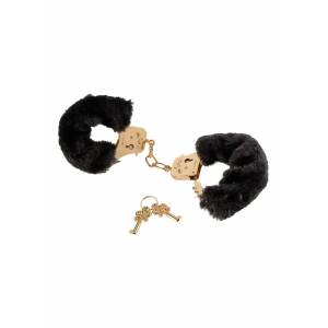 Наручники GOLD DELUXE FURRY CUFFS