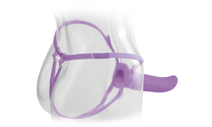 "Фаллопротез Fetish Fantasy Elite 6"" Hollow Strap-On Purple"