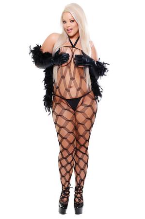 Кэтсьюит и боа Dream Weaver Diva Size