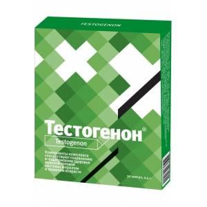 Тестогенон капсулы 0,5г. №30, для мужчин