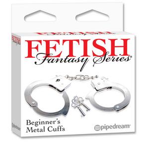 Наручники металлические Beginner's Metal Cuffs
