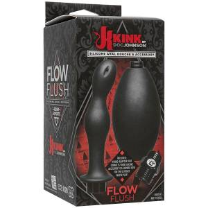 Набор насадок для анального душа Kink Flow Full Flush Silicone Anal Douche