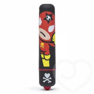 Вибропуля Tokidoki Black Rocket Man