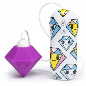 Вибратор клиторальный с 7 функциями Tokidoki Purple Diamond
