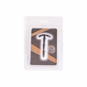 Уретральный стимулятор-плаг короткий ребристый Kiotos X Sillicone Penis Stick 4