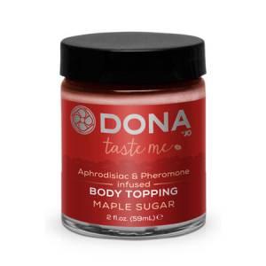 Карамель для тела DONA Body Topping Maple Sugar 59 мл