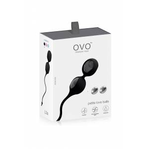 Виброшарики OVO L1A LOVE BALL BLACK