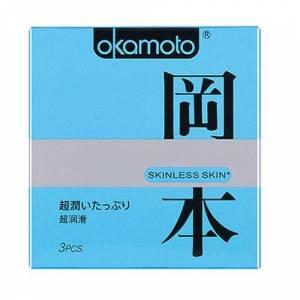 Презервативы OKAMOTO Skinless Skin Super Lubricative с двойной смазкой №3