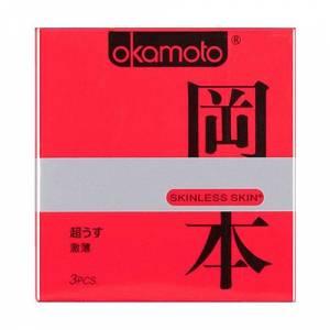 Презервативы OKAMOTO Skinless Skin супертонкие №3