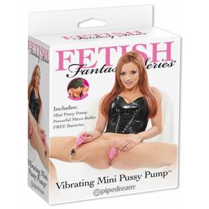 Вибромассажер Fetish Fantasy Series Vibrating Mini Pussy Pump