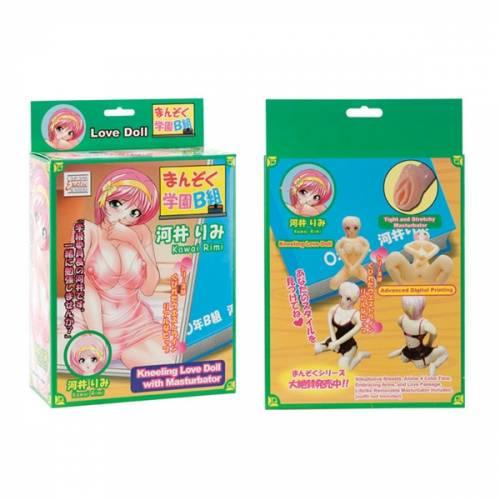 Надувная кукла ANIME LOVE DOLL RIMI с реалистичной вагиной-вставкой телесная