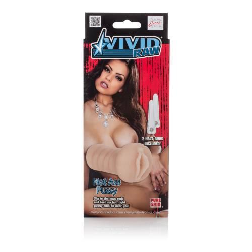 Мастурбатор вагина Vivid Raw Hot Ass Pussy нагреваемый телесный