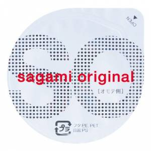 Полиуретановые презервативы SAGAMI Original 002 - 1 шт 0,02 мм