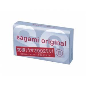 Полиуретановые презервативы 6 шт, SAGAMI Original 002