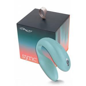 Вибратор для пар WE-VIBE Sync голубой