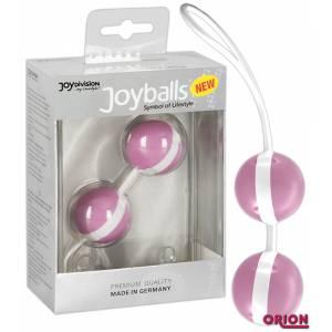 Вагинальные шарики Joyballs розово-белые
