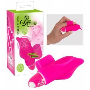 Вибратор пальчиковый Smile Little Dolphin