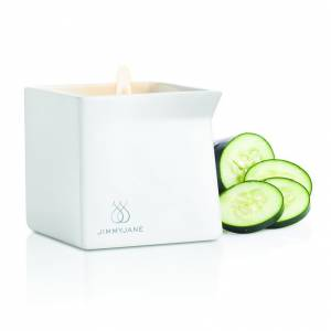 Массажная свеча Jimmyjane Afterglow Massage Candle огурец