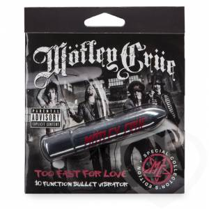Вибропуля Motley Crue Too Fast for Love 10 функций