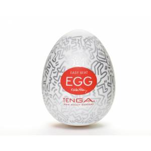 Мастурбатор яйцо TENGA&Keith Haring Egg Party