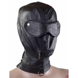 Шлем на ошейнике, чёрный, размер универсальный