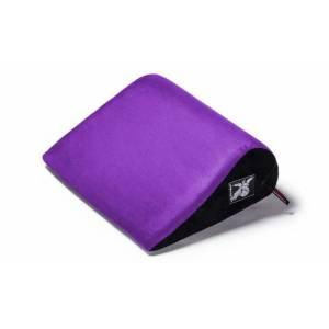 Подушка для любви малая Liberator Retail Jaz, фиолетовая замша