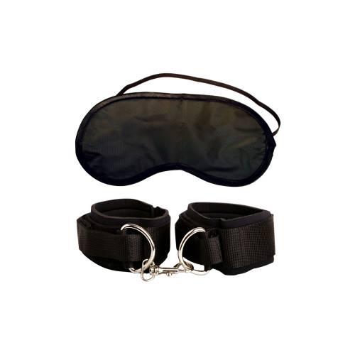 Наручники HEAVY DUTY CU S+маска в подарок