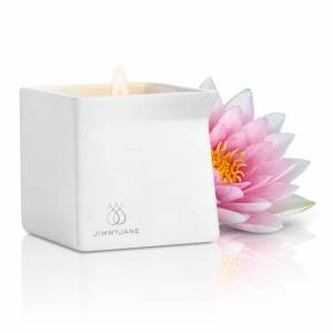 Массажная свеча Jimmyjane Afterglow Massage Candle розовый лотос