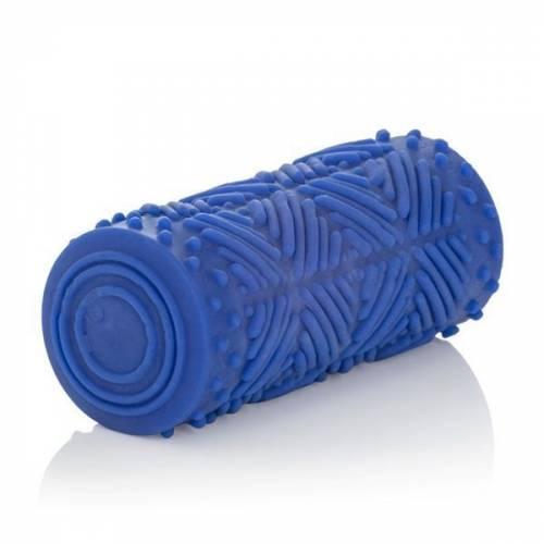 Мастурбатор Apollo Reversible Premium Masturbator Max двусторонний голубой