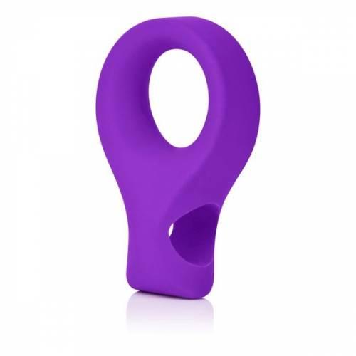 Вибро-насадка EMBRACE LOVERS RING фиолетовая